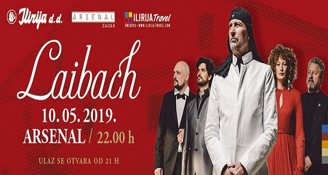 Laibach in Arsenal 10.05.2019. at 10 pm